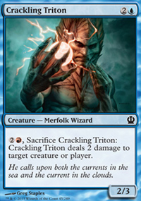 Crackling Triton - Theros