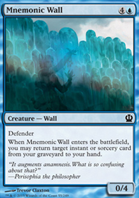 Mnemonic Wall - Theros
