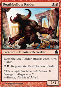 Deathbellow Raider - Theros