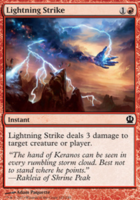 Lightning Strike - Theros