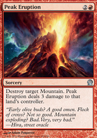 Peak Eruption - Theros