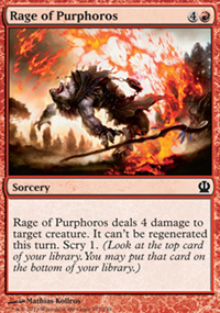 Rage of Purphoros - Theros