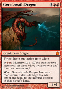 Stormbreath Dragon - Theros