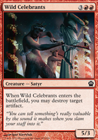 Wild Celebrants - Theros