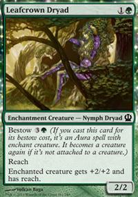 Leafcrown Dryad - Theros