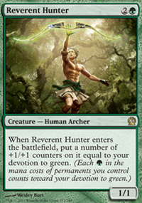 Reverent Hunter - Theros