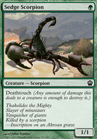 Sedge Scorpion - Theros
