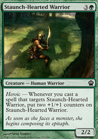 Staunch-Hearted Warrior - Theros