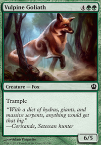 Vulpine Goliath - Theros