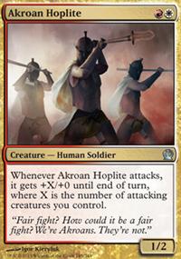 Akroan Hoplite - Theros