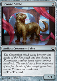 Bronze Sable - Theros
