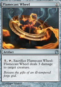 Flamecast Wheel - Theros