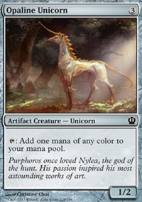 Opaline Unicorn - Theros