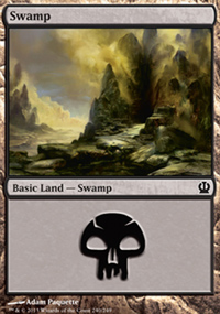 Swamp 3 - Theros