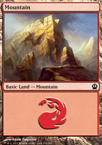 Mountain 3 - Theros