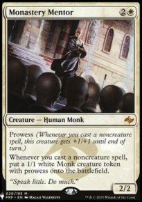 Monastery Mentor - The List