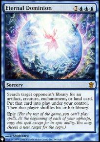 Eternal Dominion - The List