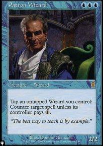 Patron Wizard - The List