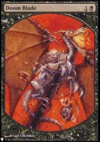 Doom Blade - The List