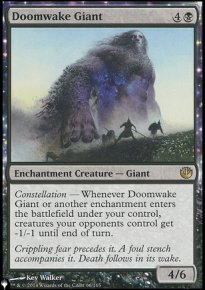Doomwake Giant - The List