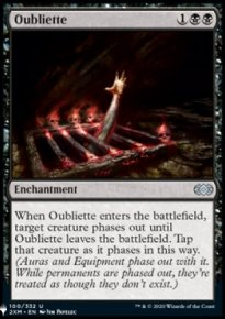 Oubliette - The List