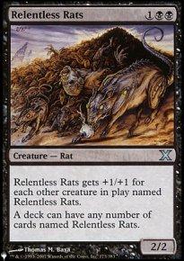 Relentless Rats - The List