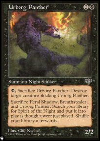 Urborg Panther - The List