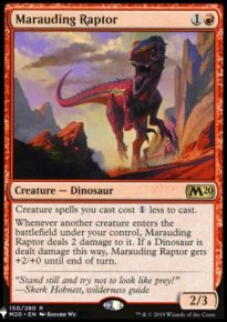 Marauding Raptor - The List