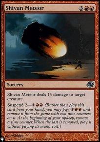 Shivan Meteor - The List