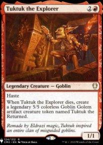 Tuktuk the Explorer - The List