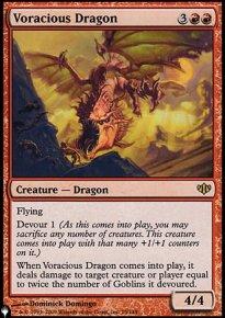 Voracious Dragon - The List