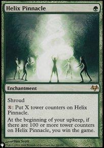 Helix Pinnacle - The List