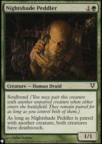 Nightshade Peddler - The List
