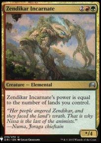 Zendikar Incarnate - The List