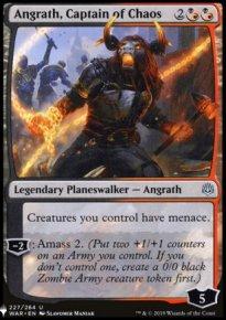 Angrath, Captain of Chaos - The List