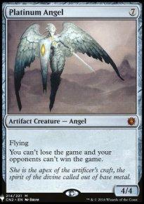 Platinum Angel - The List