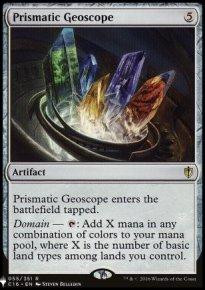 Prismatic Geoscope - The List