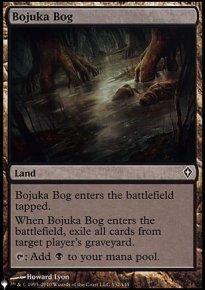 Bojuka Bog - The List