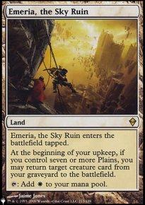 Emeria, the Sky Ruin - The List