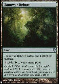 Llanowar Reborn - The List