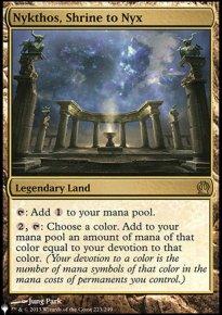 Nykthos, Shrine to Nyx - The List