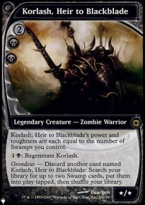Korlash, Heir to Blackblade - The List