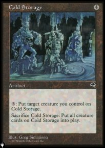 Cold Storage - The List