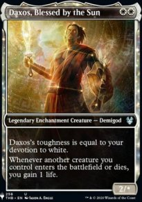 Daxos, Blessed by the Sun - The List