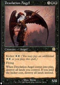 Desolation Angel - The List
