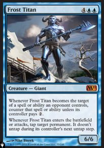 Frost Titan - The List