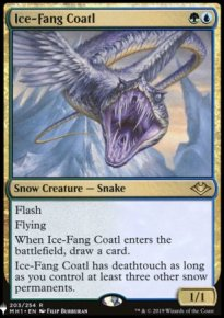 Ice-Fang Coatl - The List