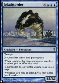 Jokulmorder - The List