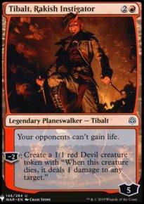 Tibalt, Rakish Instigator - The List