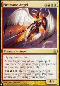 Firemane Angel - The List